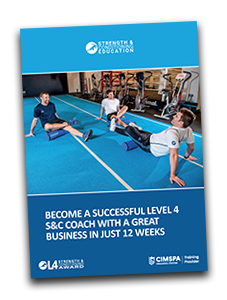 Level 4 Strength and Conditioning Courses Brochure