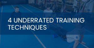 underrated training techniques
